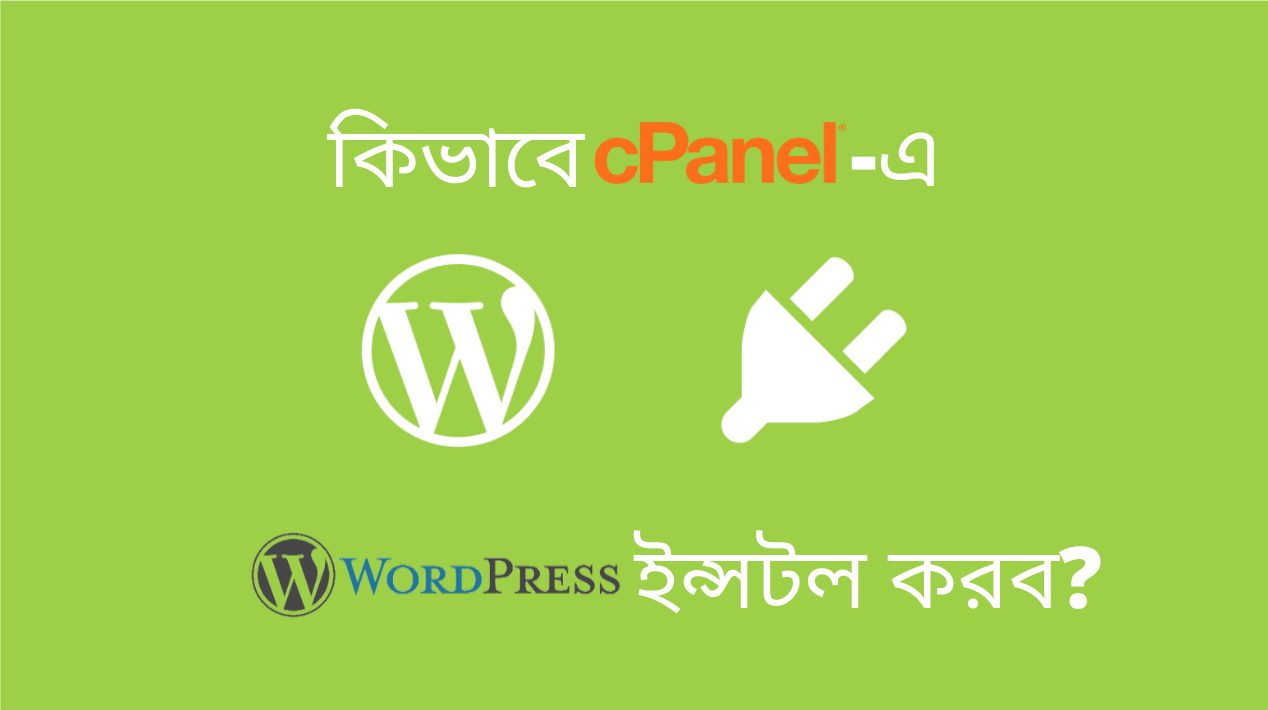 কিভাবে cPanel-এ WordPress ইন্সটল করব?